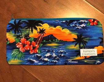 Hawaii Sunset Zipper Pouch