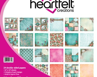 """Heartfelt Creations Under The Sea Paper Collection 12"""" x 12"""" HCDP1-266"""