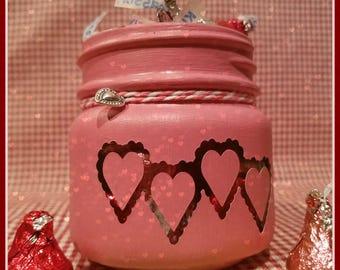 Mini Heart Treat Jar