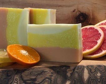 Lemon, Orange, and Grapefruit Soap