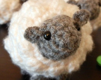 Crochet Pattern: Amigurumi Sheep, Little Sheepy Who