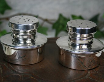 Baldwin & Miller Sterling Salt and Pepper Shakers - Paul Revere Reproduction Vintage