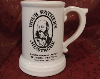 Awesome McCoy Your Father's Mustache Mug Signed!