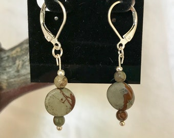 Red Rock Jasper Earrings