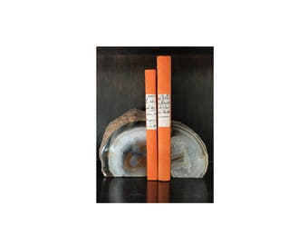Decorative Geode Bookends (Set of 2)