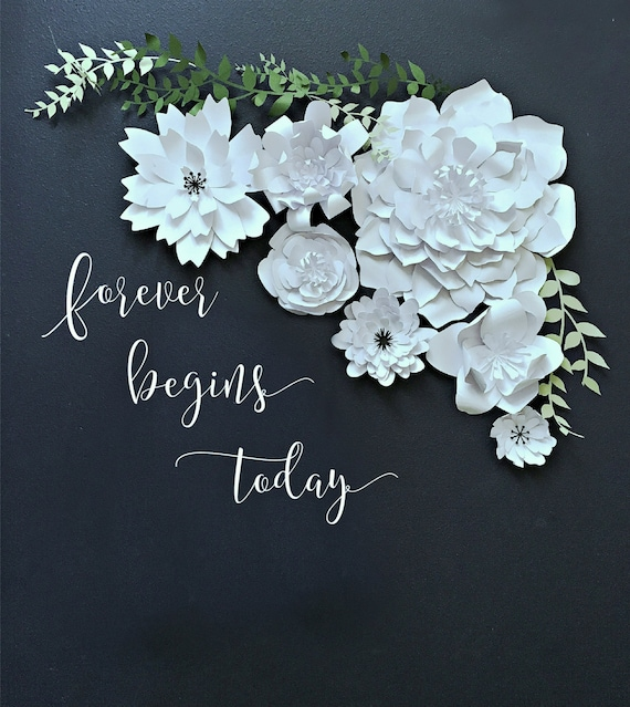 Paper flower backdrop wedding photo booth baby sphoto booth mightylinksfo