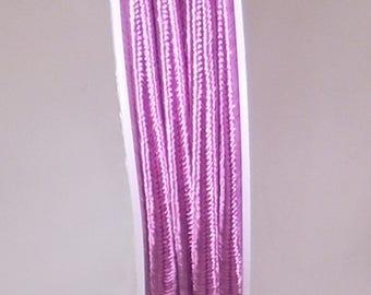 Purple braid 3mm x 1 meter