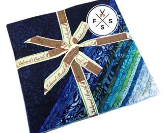 "SALE Fabric Island Batik Zen Batiks Precut 10"" Fabric Quilting Cotton Squares Island Stacks"