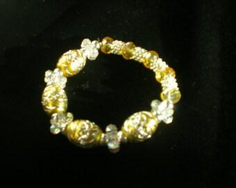 Handcrafted beaded bracelet Custom