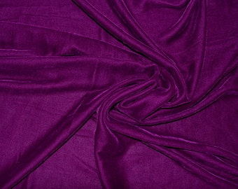 Velvet in Purple by half yard - V13