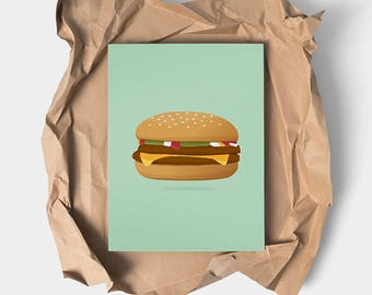 Mommy Knows ®-Burger | Artist: Ami