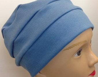 100% Cotton Slate Blue Hat