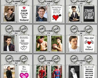 Tom Holland Acrylic Keychain - Choose Your Favorite 10 Different Designs