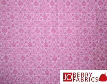 Savannah Pink Medallion Fabric