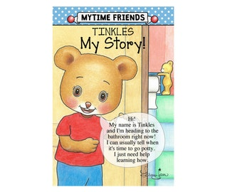 Tinkles the Pottytime Bear, Potty Training (Storybook Only)