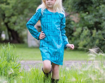 Taylors Shift & gathered and Dress and top . PDF sewing patterns for girls sizes 2t-12