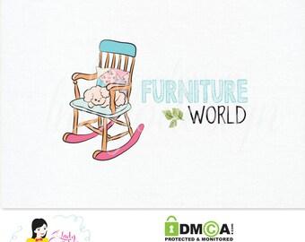 Handrawn Premade Furniture Small Business Logo Design – LD038
