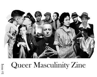 Queer Masculinity Zine
