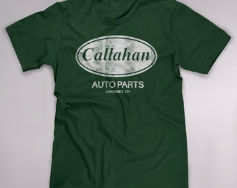 Callahan Auto Parts Funny Sandusky Ohio 90s Classic Movie Parody Men's T-shirt Tee