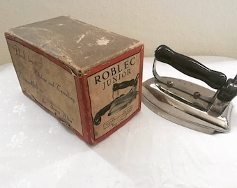 Vintage Iron 1960's - Roblec Junior