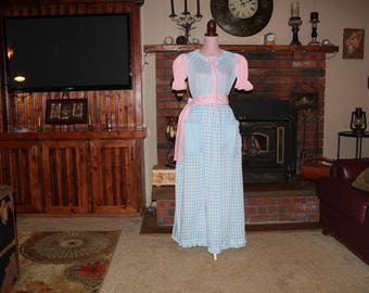 Sweet Prairie Costume, Little Bo Peep, Fairytale, Miss Muffet, Mother Goose, Pioneer, Size S/M