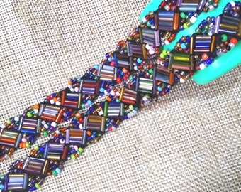 colors beaded lace