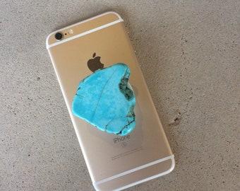 Turquoise Slab Phone Grip