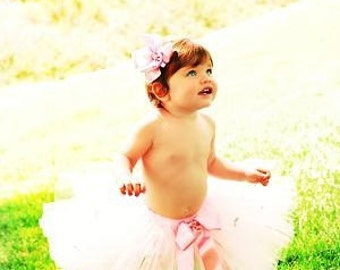 FREE HAIRBOW - Dusty Rose Tutu