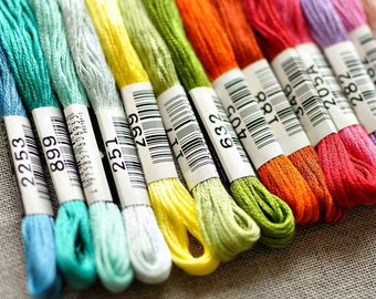 Cosmo by Lecien-Mouline Special 25--Embroidery floss 100% cotton stranded thread