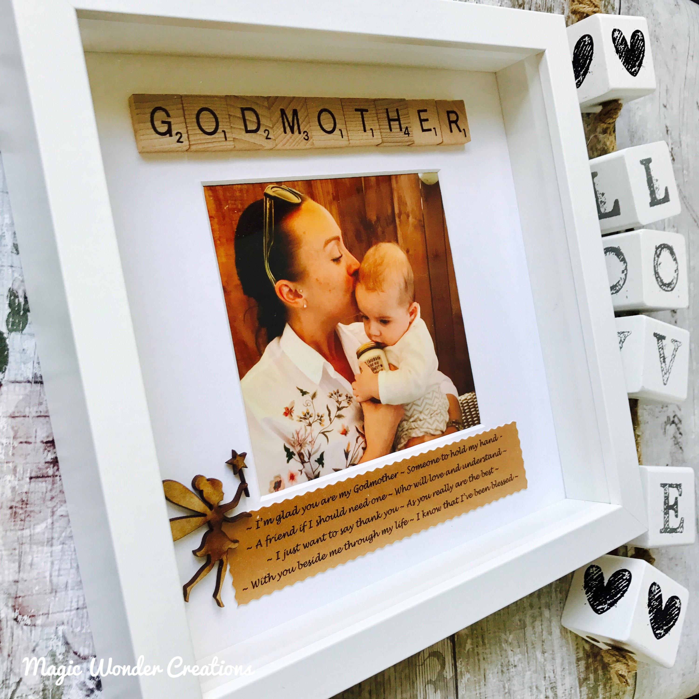 Godmother Gift, Personalised Godmother Gift, Personalised Godmother ...