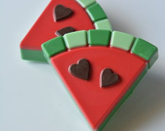 Chocolate Covered Oreos Watermelon (6), Summer Treats, Watermelon Themed Birthday, Watermelon Cookies, Watermelon Slice