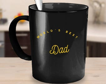 Worlds best Dad mug, Dad mug, gift for dad, coffee mug, mug for dad, dad birthday gift, dad coffee mug, Fathers day gift, Fathers day mug