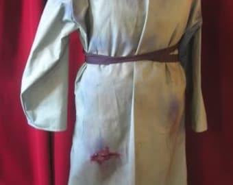 Frank N Furter Lab coat. Rocky horror picture show, . Film copy. Blood spatter RHPS cosplay