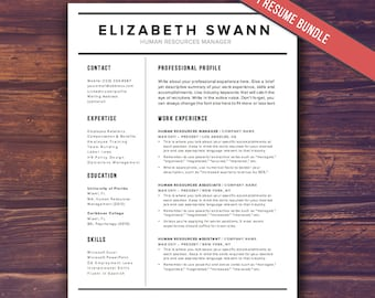Resume template modern cv template instant download word resume template word free cover letter cv template teacher modern professional resume yelopaper Gallery