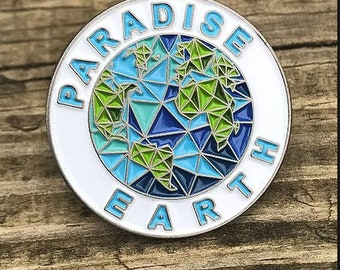 10 pieces Paradise Earth Lapel Pin
