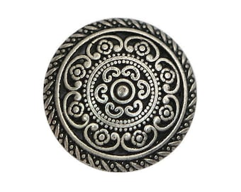 12 Cordes 5/8 inch ( 16 mm ) Metal Buttons