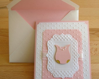 Multi-Layer Baby shower/ Thank you/ Gift for baby cards.