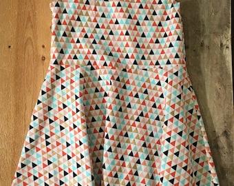 Multi-Color Triangle Dress Size 5T