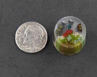 Le jardin des papillons par Greg Chase Murrine Boro canne 7 grammes - 125 G