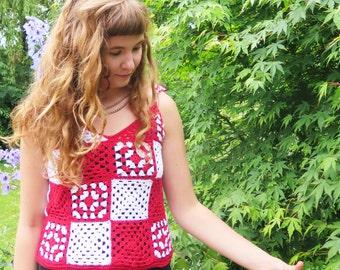 Crochet Camisole Pattern PDF