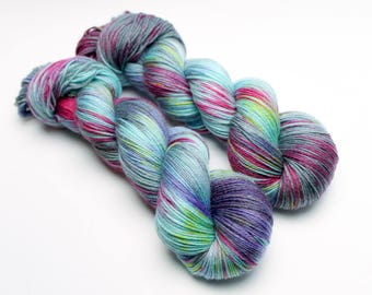 Hand dyed yarn 'Funk Soul Brother' DK