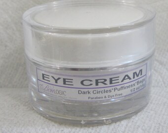 Our BEST Eye Cream EVER, Bags, Puffiness, Dark Circles, 1/2 ounce Eye Cream - Free US Shipping