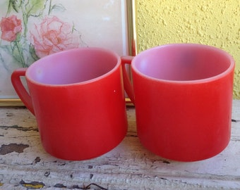 Red Fireking mugs
