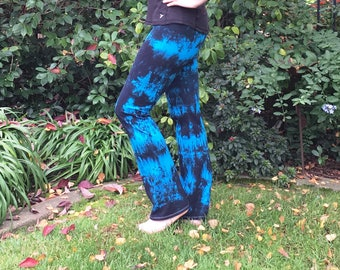 Plus Size Yoga Pants Twilight Collection Hand Dyed by Splash Dye Activewear