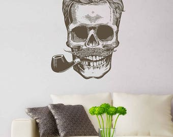 Skull Wall Decals The Dead Skull Wall Decals skull wall sticker skull wall decor skull decal skull wall sticker kik3247