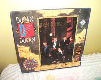 Duran Duran Seven and the Ragged Tiger Vinyl Record album GREAT CONDITION