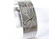 Entwined Leaf Cuff Bangle...