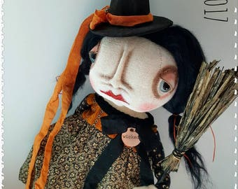 Halloween Grimitives Doll Witch Wicked Wendy