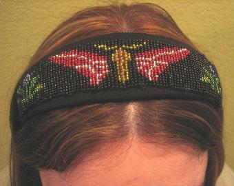 Art Deco Loom Beaded Headband