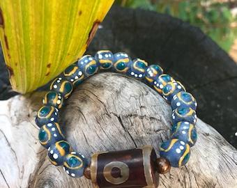 Krobo and Tibetan Beads